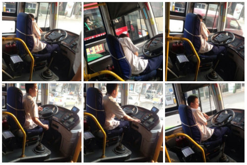 wuhan bus driver